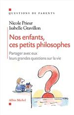 Couverture du livre Nos enfants, ces petits philosophes